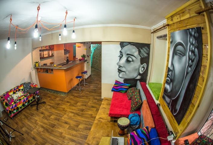 50_Studio in Loco Hostel - Almaty
