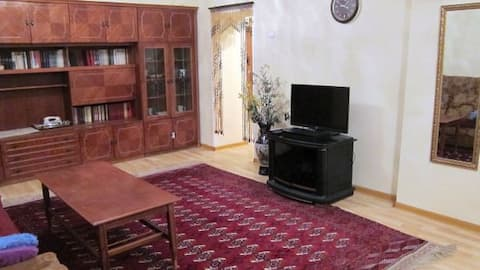 A 3-roomed apartment in Ashkhabat