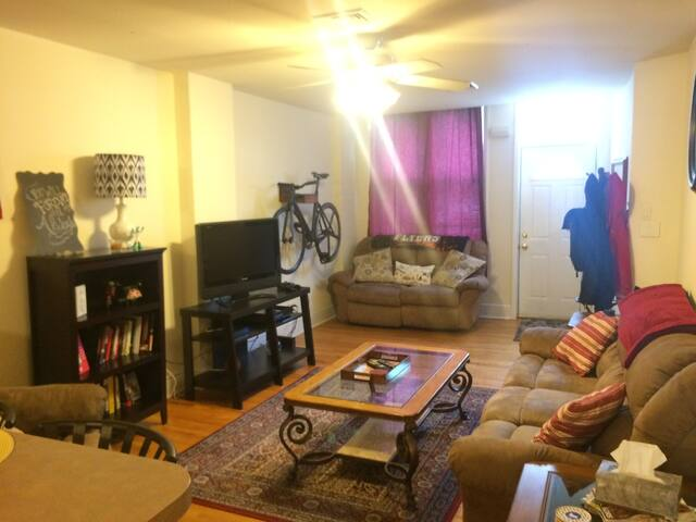Cozy Apt Minutes From Pope Mass - Philadelphia - Apartment