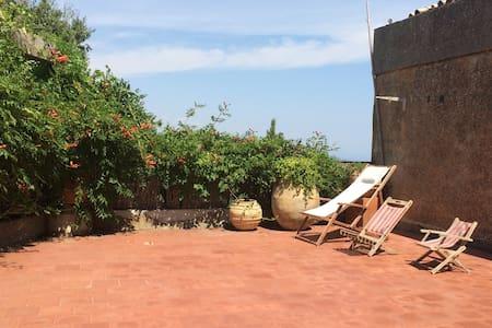 Maison de village à grande terrasse - Gassin