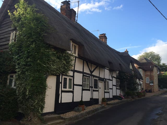 Thatch cottage in Wiltshire village - Ramsbury