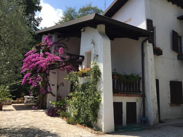 Soggiorno in villa con giardino - Gardone Riviera - House