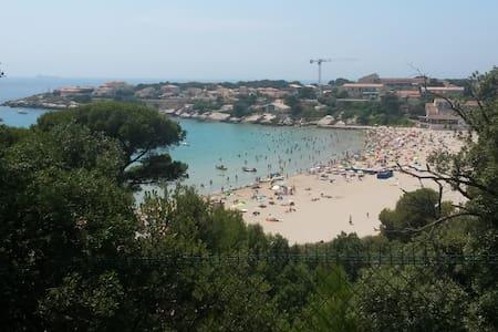 Vue mer et bord de mer, très grande terrasse - Martigues