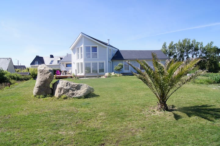 Cosy apartment 100 m from the beach - Guissény - Apartment