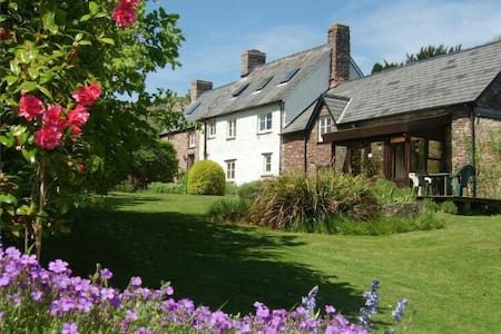 Red Hart Cottage B&B Apartment. - Crickhowell - Casa