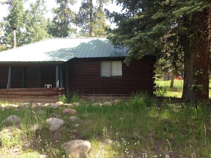 Rustic Log Cabin #2