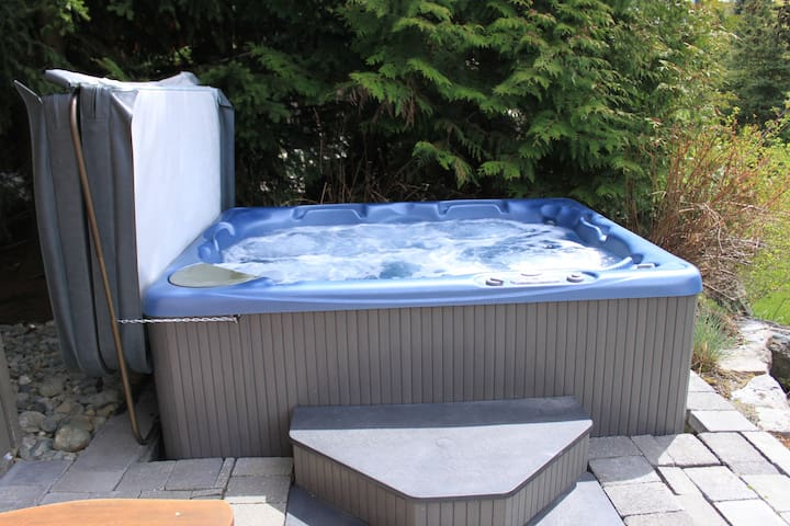 Fabulous Whistler home 5 bedroom hot tub ping pong