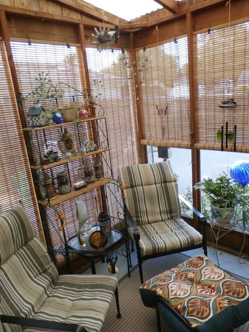 sunroom for relaxation