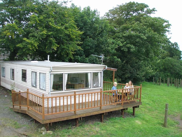 Bryncus Farm Caravan/mobile home, near St Dogmaels - Cardigan