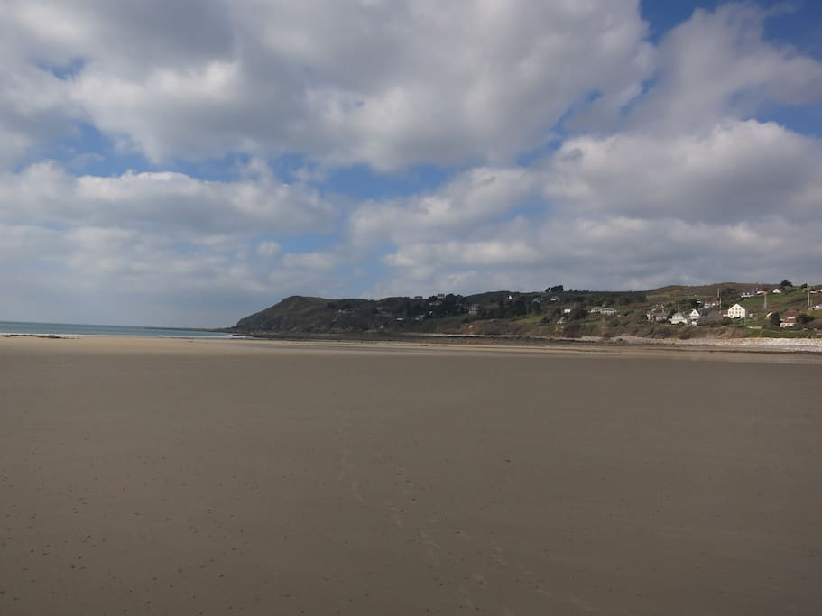 la plage à 100m