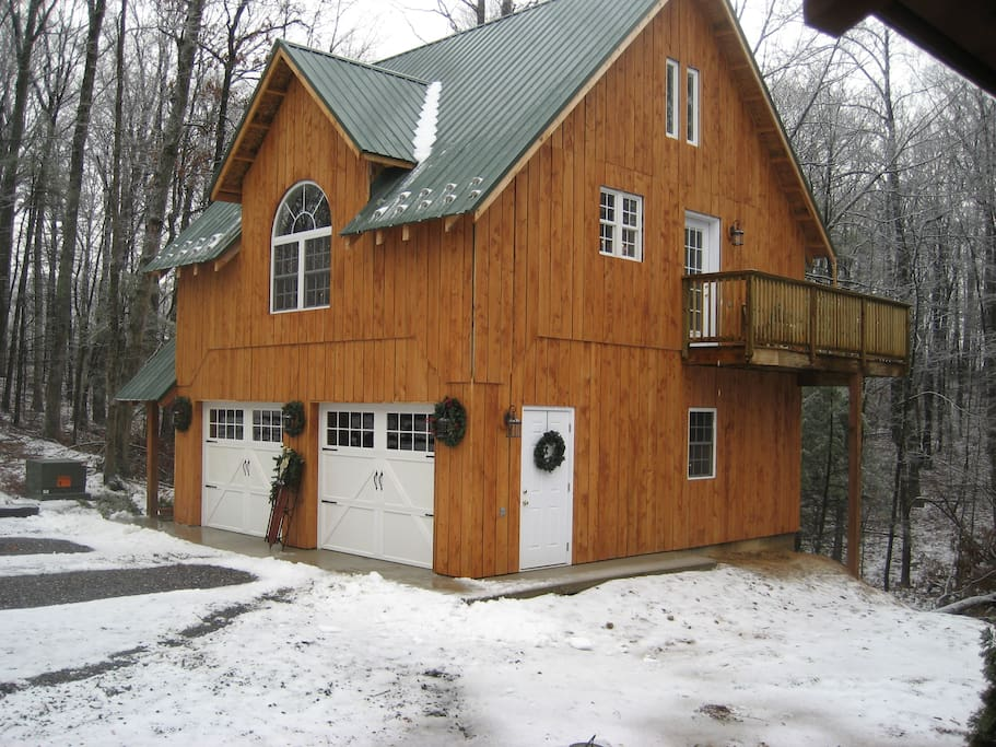The Carriage House during the Winter