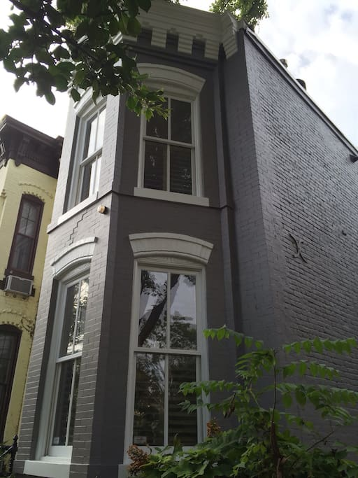 Newly painted exterior.