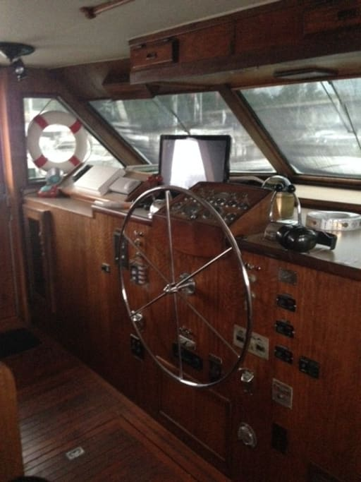 Pilothouse Helm Station