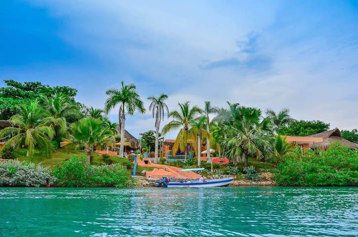 ISLA BARU. Villa Náutica - Cartagena das Índias - Casa de campo