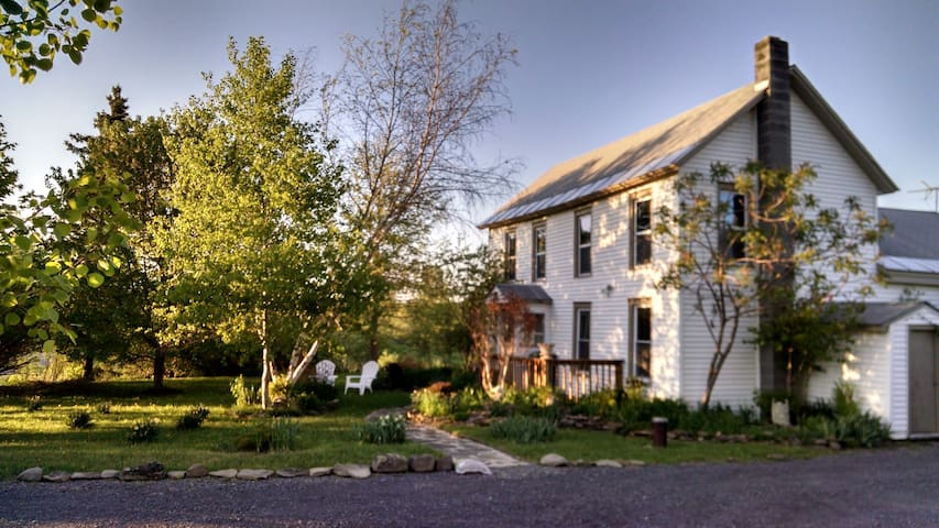 Cozy country apartment on 30 acres - Sloansville - Flat