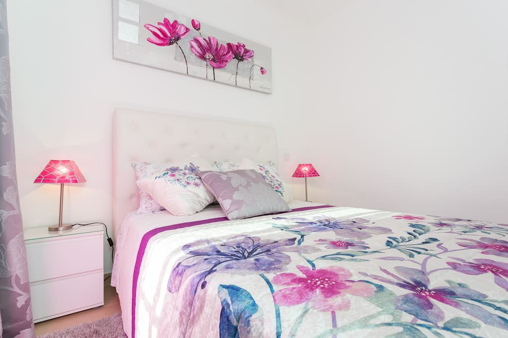 Beatifully decorated, the Master Bedroom is much more than the heart of the house.. It is a love nest