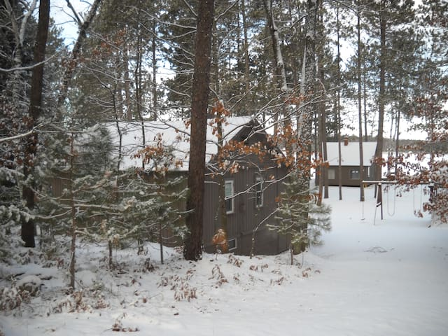 Lakeview cabin, really fun resort - Saint Germain - Srub
