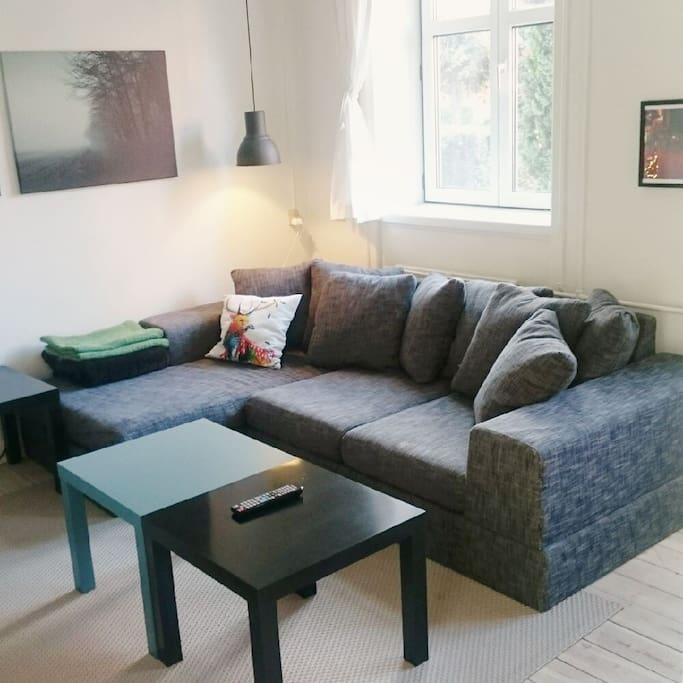 Sofa with the possibility of extra bed