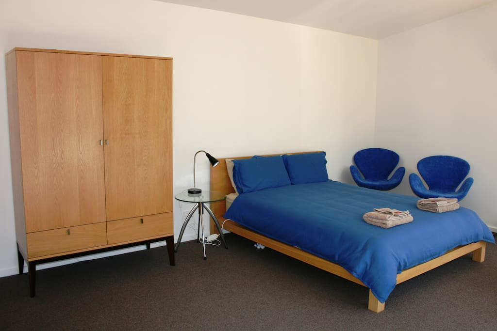 Bedroom/Lounge of Pademelon Cabin