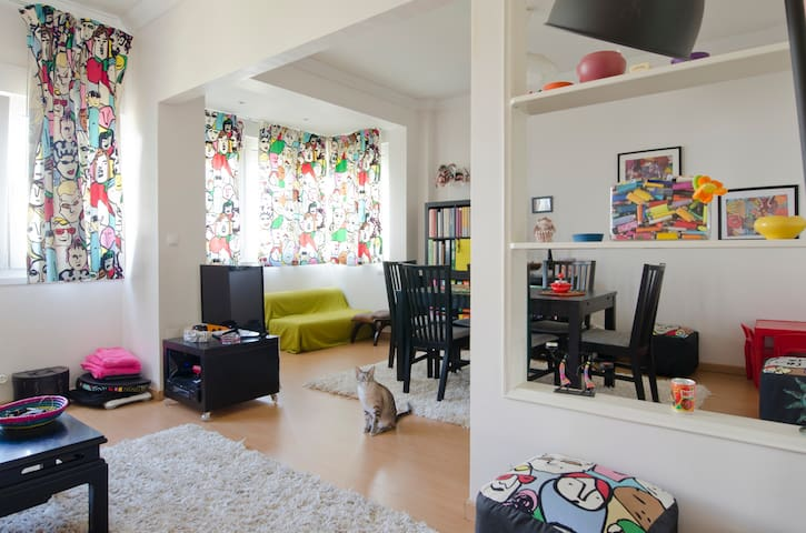 Friendly and cosy apartment in Lisbon - Lisboa - Apartemen