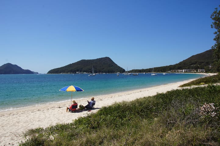 Shoal Bay Beach enjoyment - Shoal Bay
