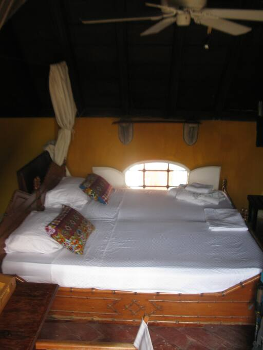 View on the Twin Room.