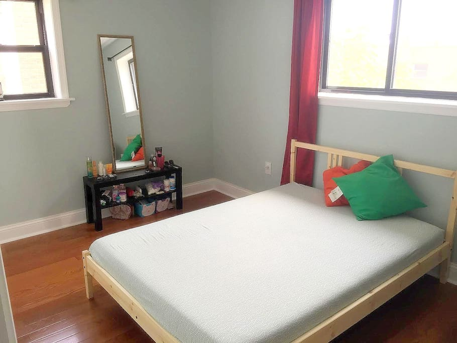 Full/Double bed with Foam Mattress