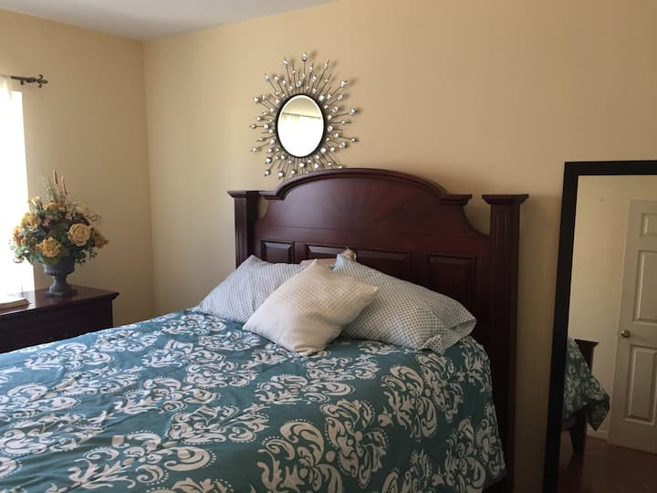 Cheerful & Comfortable BR/House - Central Location
