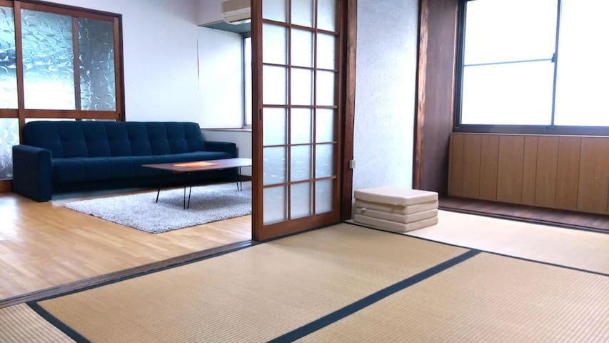 Near KIX Japanese GardenHouse Room1 - 貝塚市 - Casa