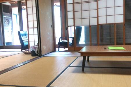 Room2 NearKIX Jp traditional Tatami - 貝塚市