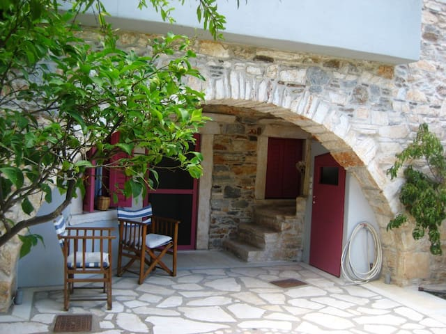 Zas Traditional Apartment for 3 - Danakos - Casa