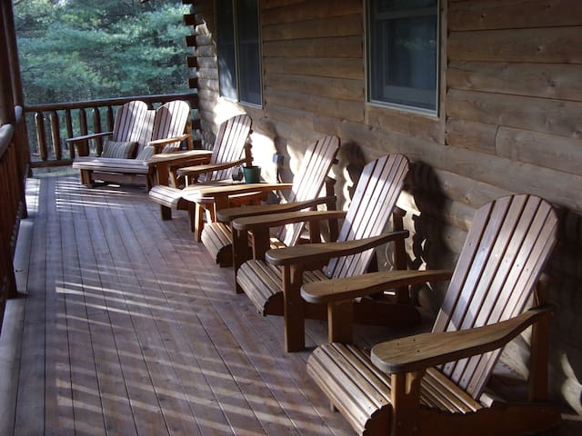 Lake Access Cabin, 3 private acres - Swanton - Casa