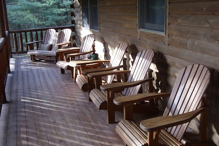 Lake Access Cabin, 3 private acres - Swanton - Ev