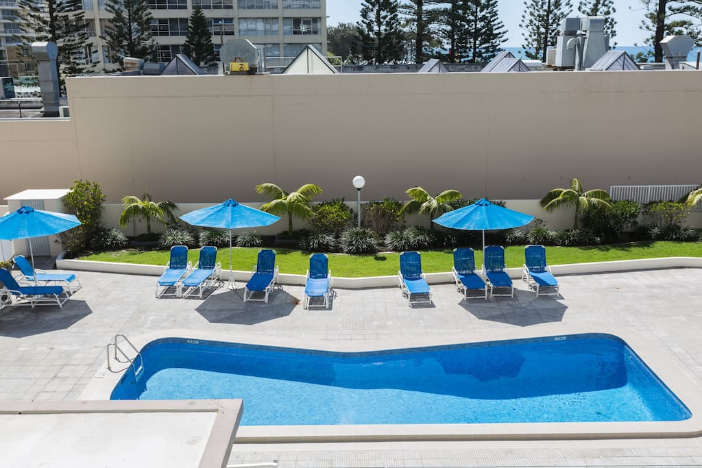 heated pool, great all year round. and its in view and only takes a lift ride to get to it.