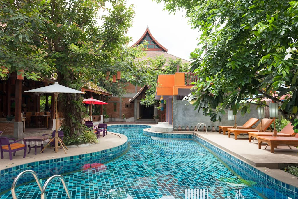 Pool Villa Resort 15 Bedrooms Up To 30 Guests Villas For Rent In Chiang Mai Chiang Mai