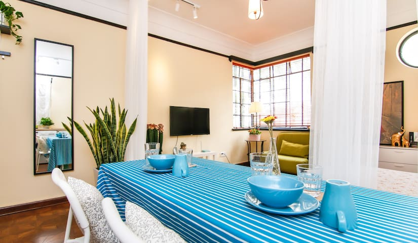 Modern Studio in French Concession-Metro 1,2,7,10 - Shanghai