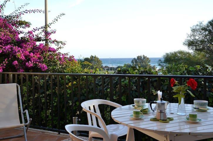Apartment with beautiful sea view. - Sampieri