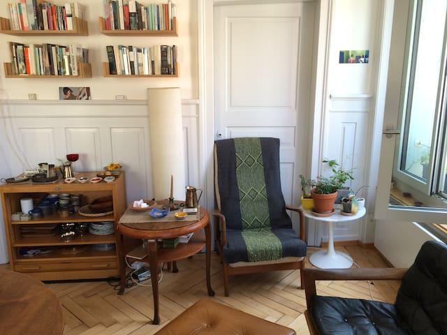 Charming room in vibrating Kreis 4 - Zürich - Flat