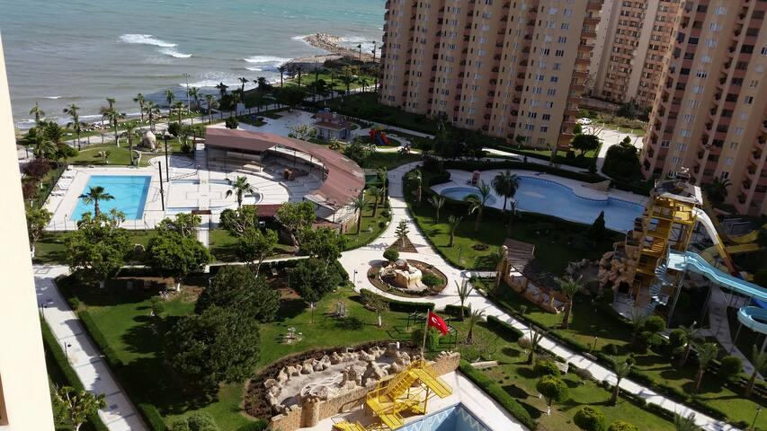 Holiday apartment with Aquapark - Mersin - Apartment