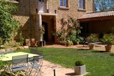 Beaujolais lifestyle near Lyon - Lacenas - Haus