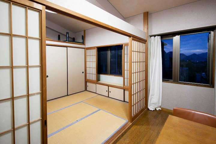 Unique Japanese Tatami Apartment - Mitoyo - Hus