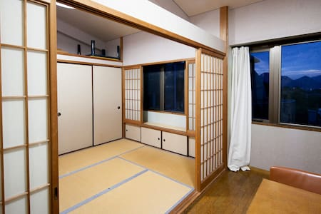 Unique Japanese Tatami Apartment - Mitoyo