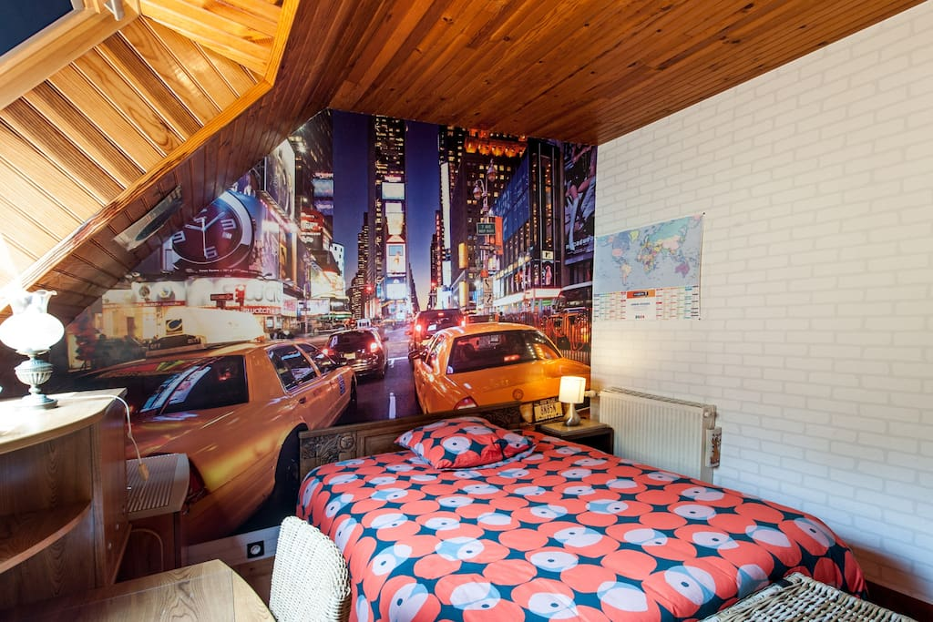 chambre am ricaine bed breakfasts for rent in brest bretagne france. Black Bedroom Furniture Sets. Home Design Ideas