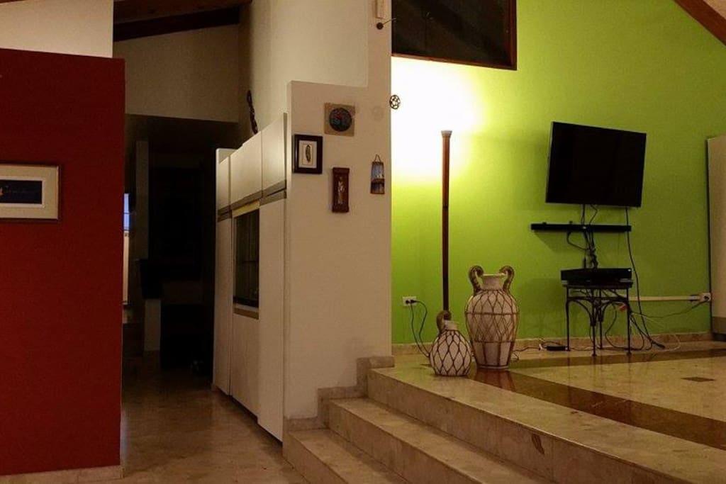 Split level interiors