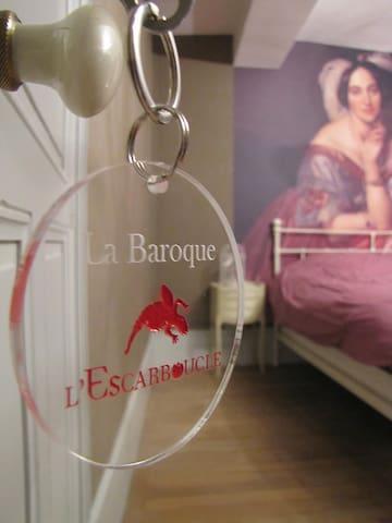 L'Escarboucle - La Baroque - Bligny-sur-Ouche - ที่พักพร้อมอาหารเช้า