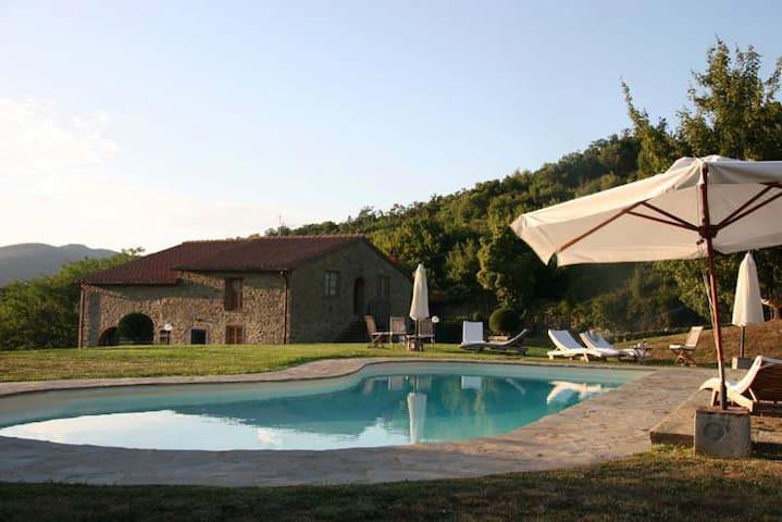 Villa+pool Chianti Rufina - Pastore - Londa - Appartement