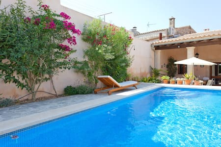 RUSTIC HOUSE WITH POOL IN MALLORCA - Maria de la Salut