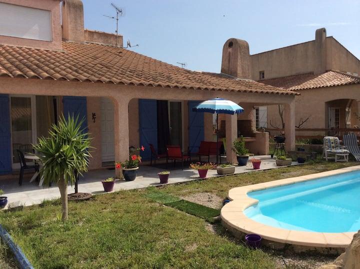 Bed&breakfast dans villa calme LGM
