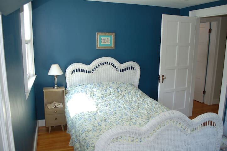 Bedroom #2 - has a double bed and cozy feel