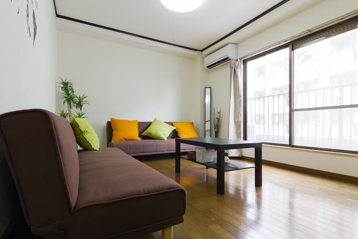 Very convenient room near DOTONBORI - Ōsaka-shi - Apartment